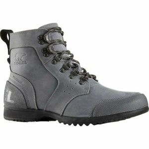 Sorel Mens Ankeny Waterproof Mid Hiking Boot gray